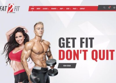 Fitness Club Website