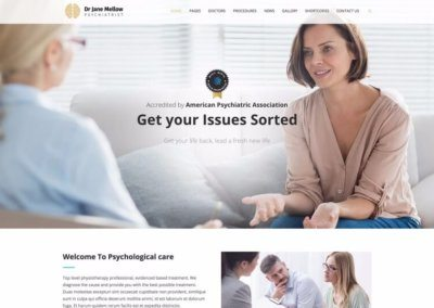 Psychiatrist's Website