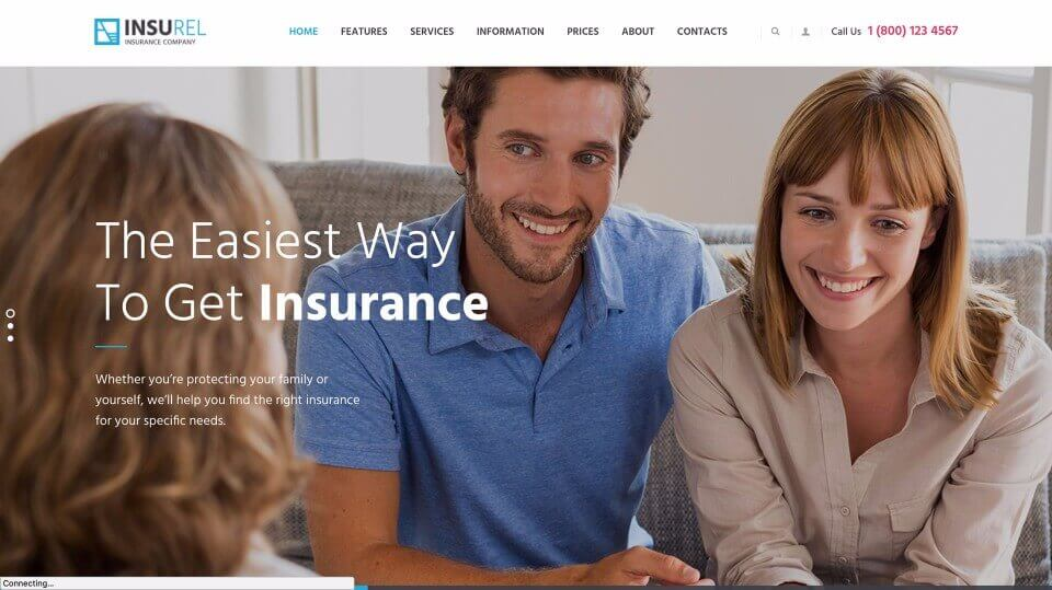 Small Business Web Design for Insurance Companies