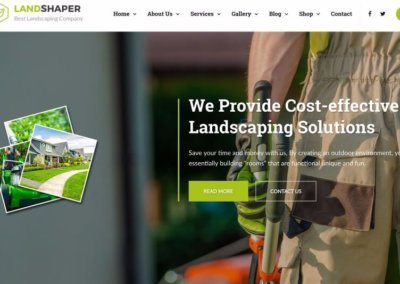 Landscaping Company Website #2