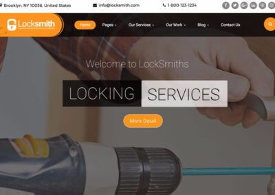 Locksmith Company Website