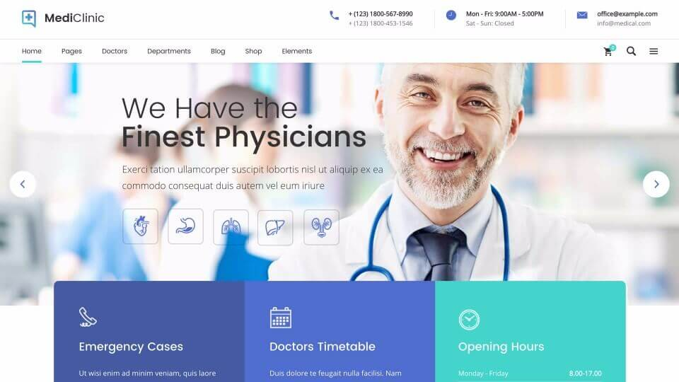 Medical Website #2