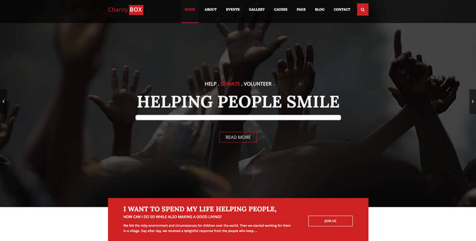 Not-for-Profit Organization Website