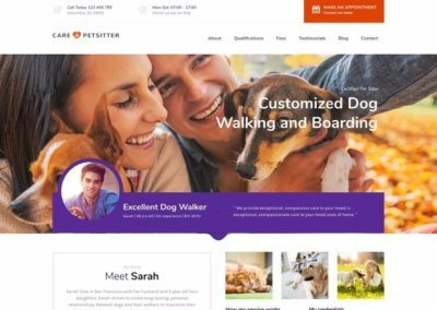 Pet Care Service Website