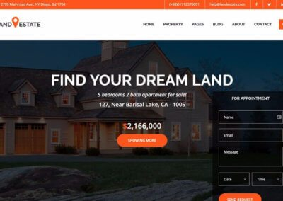 Real Estate Website #2